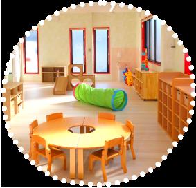 1・2歳児保育室